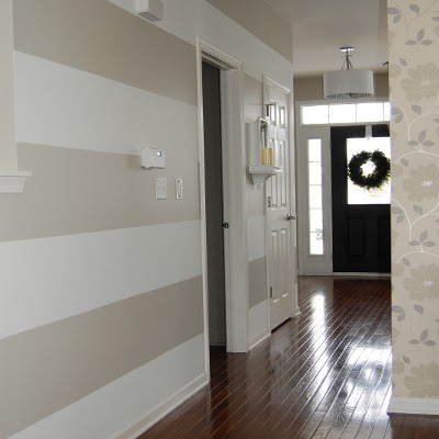 как оклеить комнату разными обоями фото
