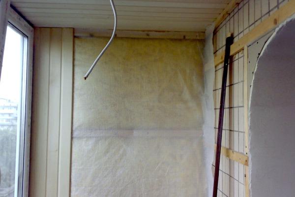 Отделка балконов внутри вагонкой своими руками видео