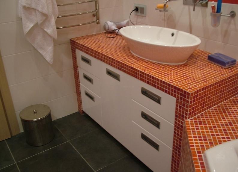 Как сделать мебель для ванной своими руками 110