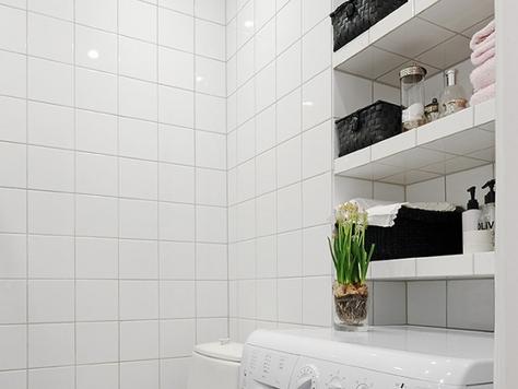 Полки в ванную комнату из гипсокартона своими руками