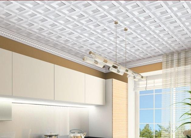 Потолок дизайн потолочная плитка