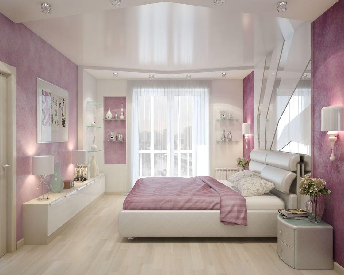 Дизайн спален из гипсокартона Потолки из гипсокартона в спальне: дизайн, фото