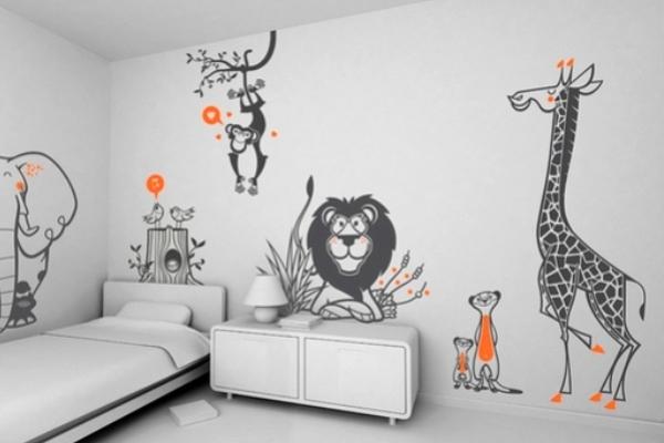 Рисунки на стену своими руками большие