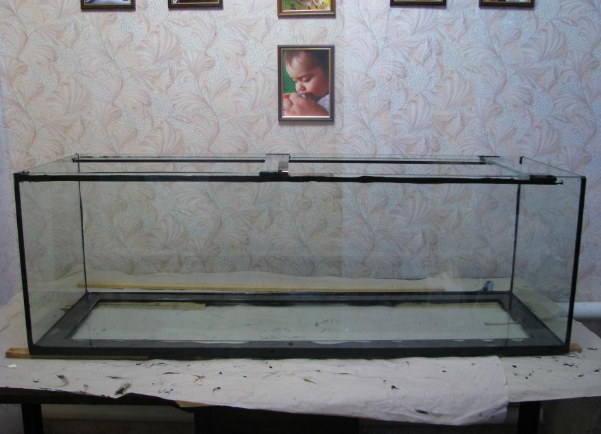 Как самому сделать аквариум в домашних 587