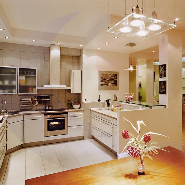 Современные люстры на кухню фото