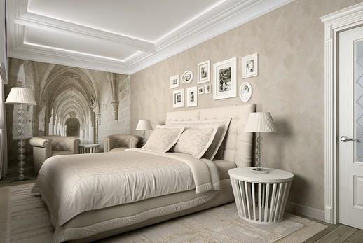Современная классика в дизайне спальни