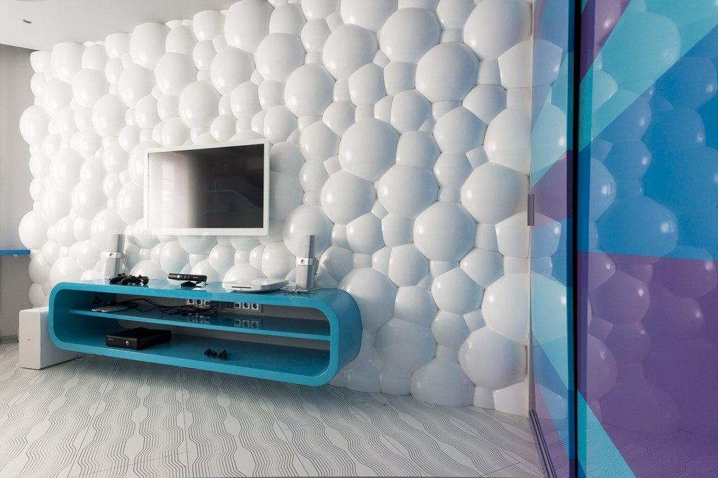 Стеновые панели 3d в интерьере квартиры фото