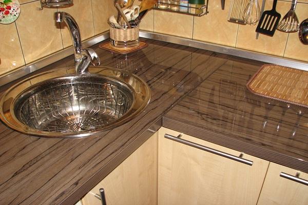 Столешница для кухни, ламинат столешница arcobaleno белый кристалл