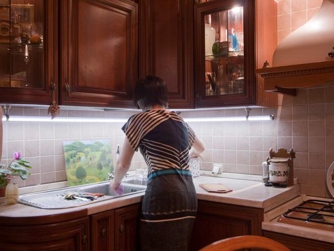 светильники для кухни фото