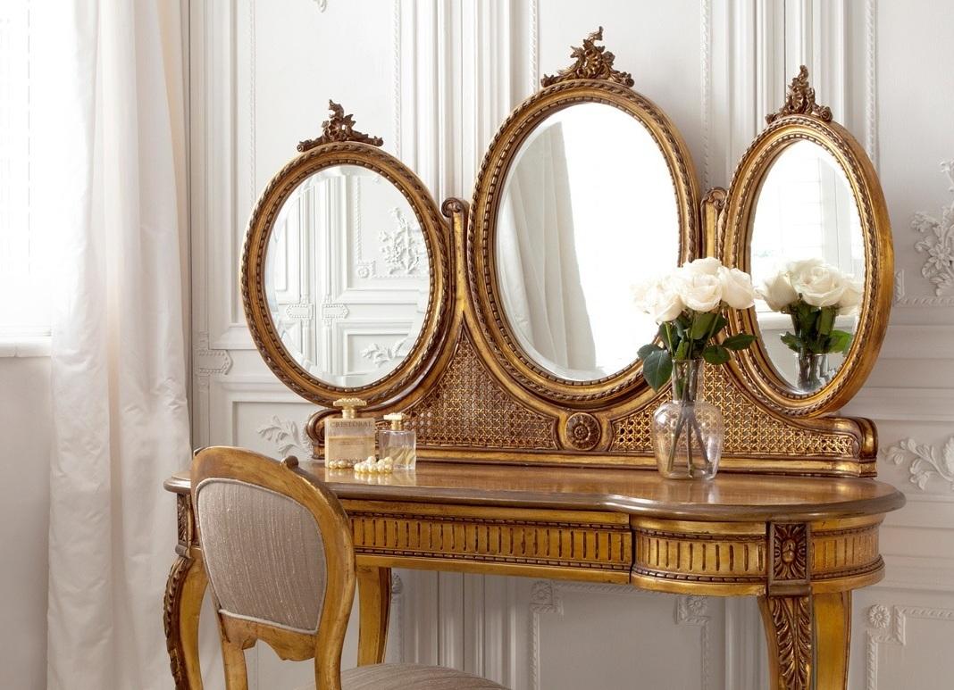 С зеркалом туалетные столики, Туалетные столики, Азалия МДФ 12.1.1 -Трельяж, Интернет-магазин недорогой