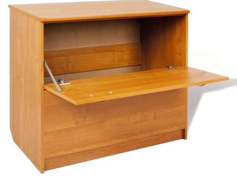 Ящик для постельного белья с верхней крышкой.