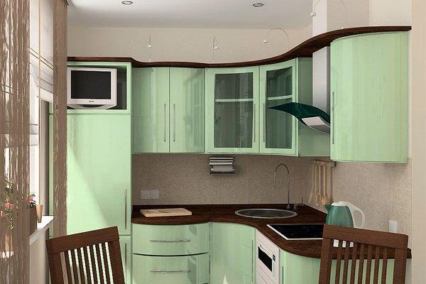 кухни для хрущёвки угловые фото