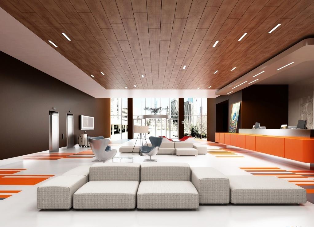 Дизайн потолка из ламината в интерьере
