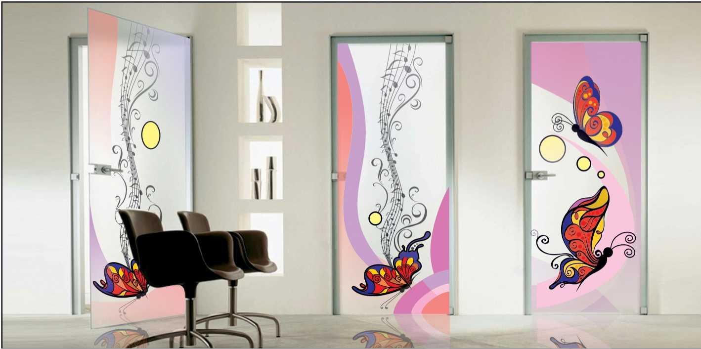 Рисунки на двери своими руками роспись узоры трафареты