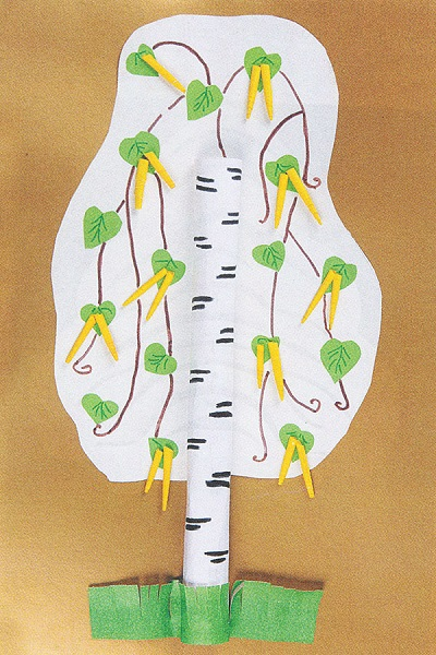 дерево из бумаги своими руками фото