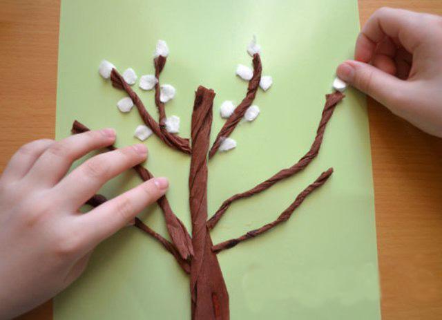 Как сделать почки на дерево своими руками