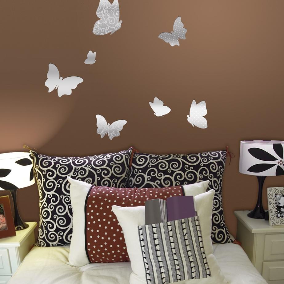 Декор бабочки на стене как сделать своими руками фото 503