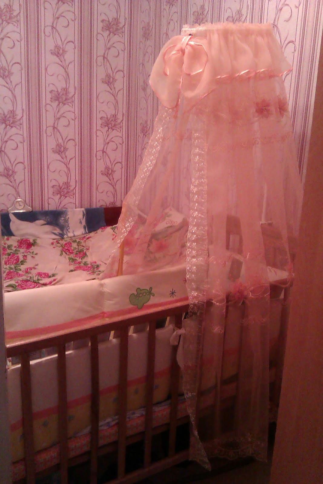Детские балдахины на кроватку своими руками фото 841