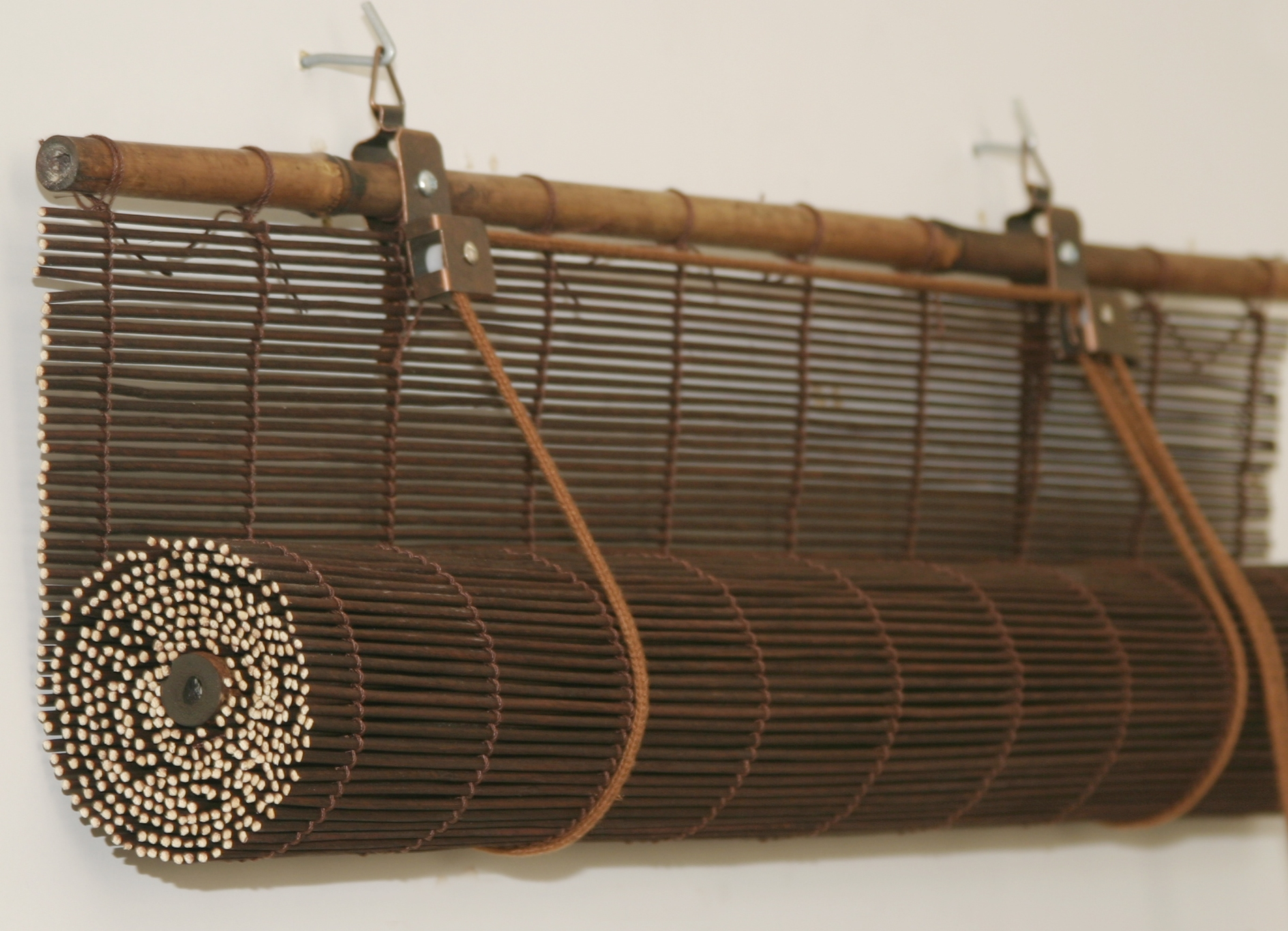 Как сделать шторы из бамбука своими руками