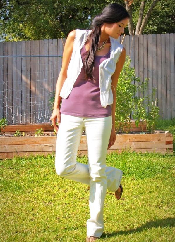 Фото девок в белых прозрачных брюках 12 фотография