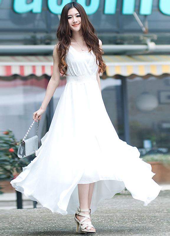 Вечерние платья для полных весна-лето 2014