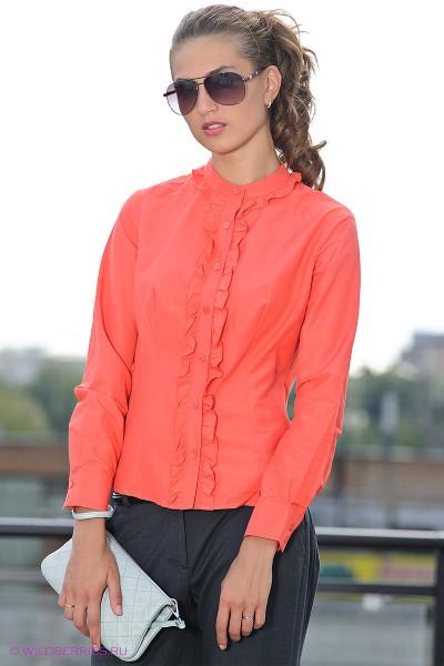 блузка с воротником стойкой фото