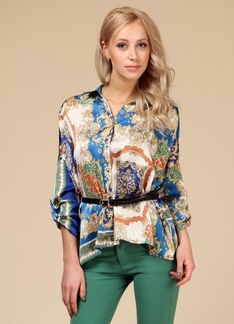 Блузка Из Шифона Для Полных В Самаре