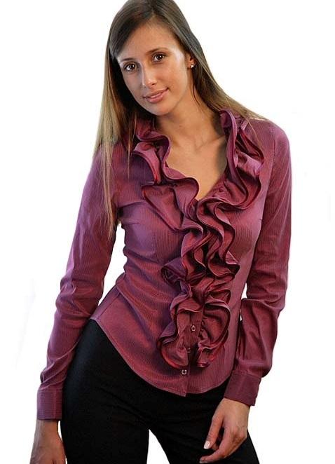 Фото блузки из хлопка