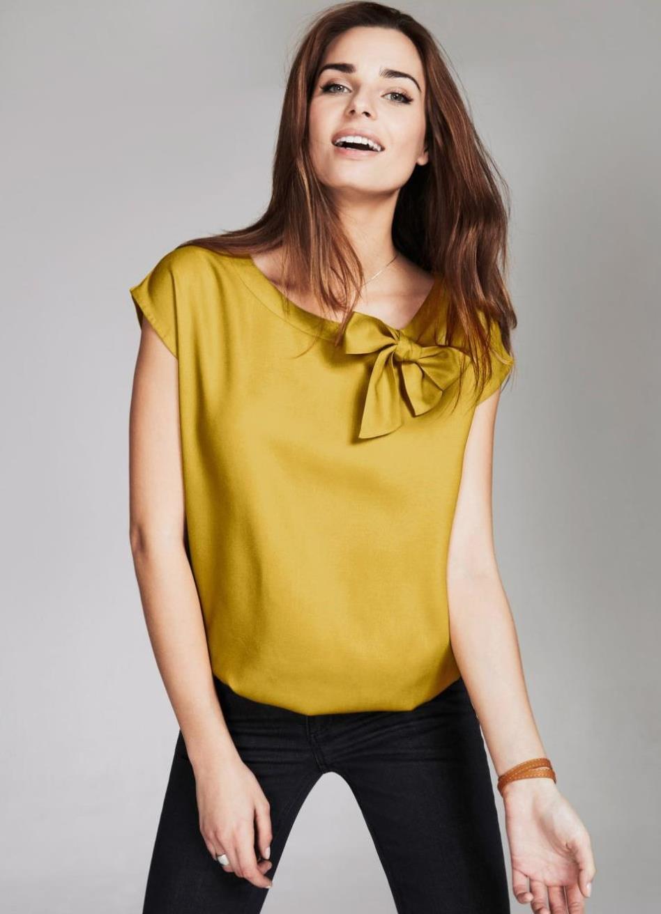Модные Платья И Блузки Из Шелка