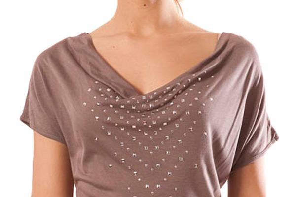 Модные блузки с воротником