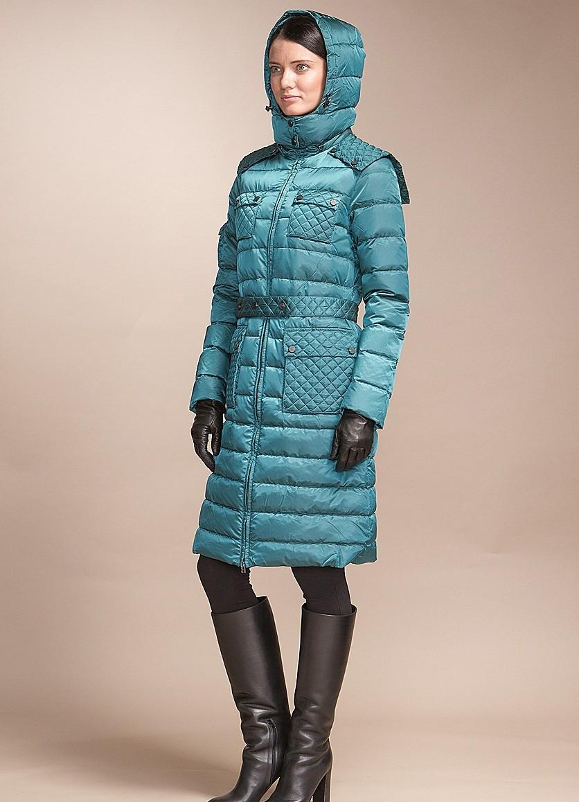 Пальто болоневое женское