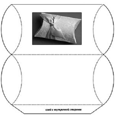 Бонбоньерка своими руками схемы размеры