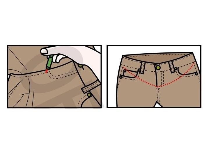 Как сшить летние брюки для беременных 48