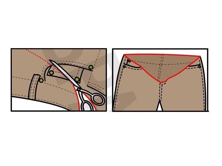 Как скроить юбку для беременных своими руками 29