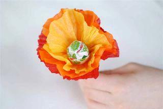 Цветы из чупа чупса своими руками