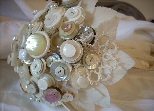 Идея свадебного букета своими руками