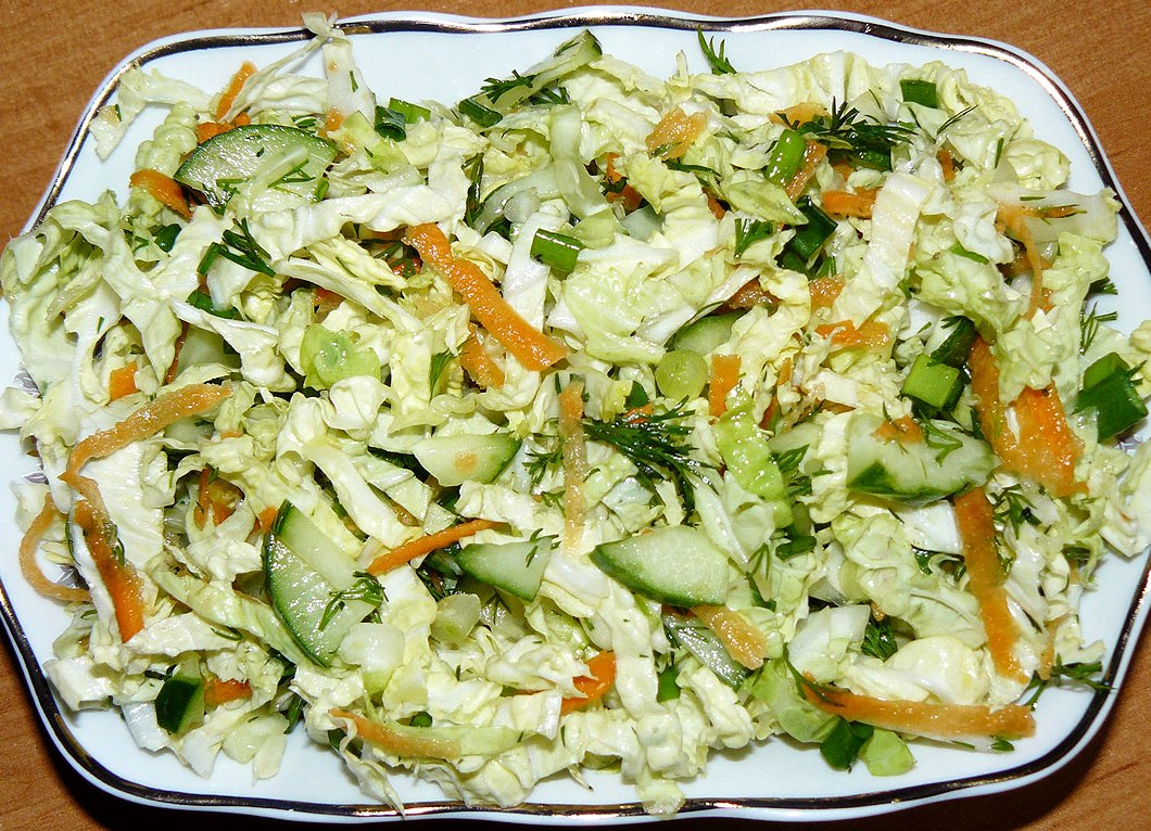 рецепты салат пекинская капуста