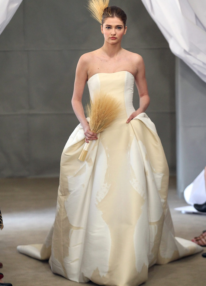 Свадебные платья каролины херреры