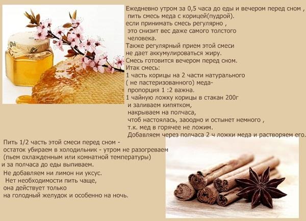 Мед и корица полезные свойства