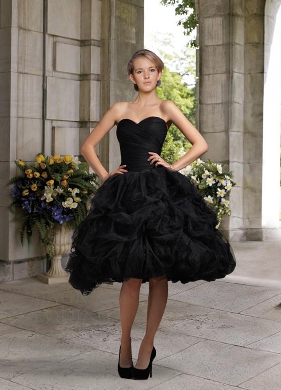черное короткое свадебное платье1 · черное короткое свадебное платье2