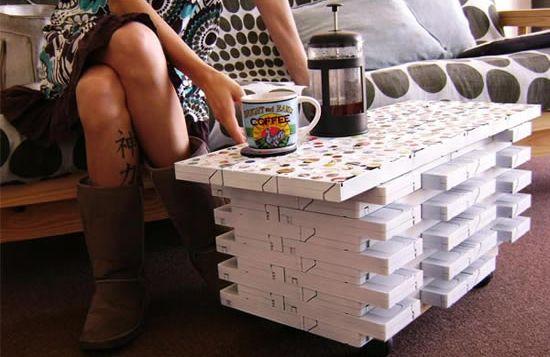 Как сделать кофейный столик для дачи