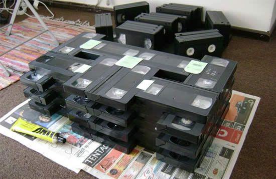 что можно сделать из видеокассет6