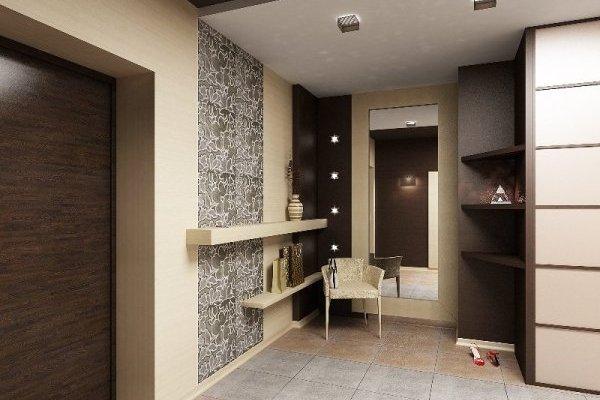 Foyer Unit Designs : Цвет стен в прихожей