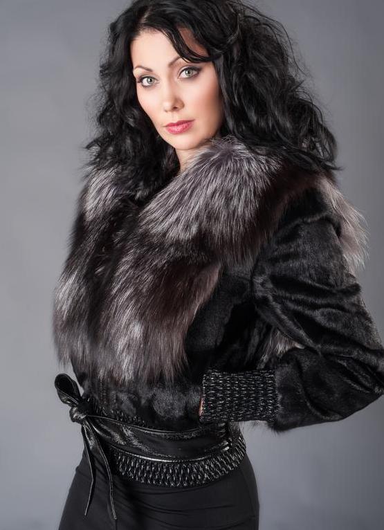 Куртка меховая женская 100