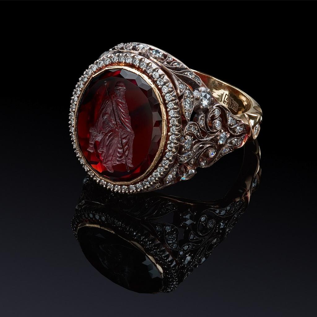золотые красивые кольца