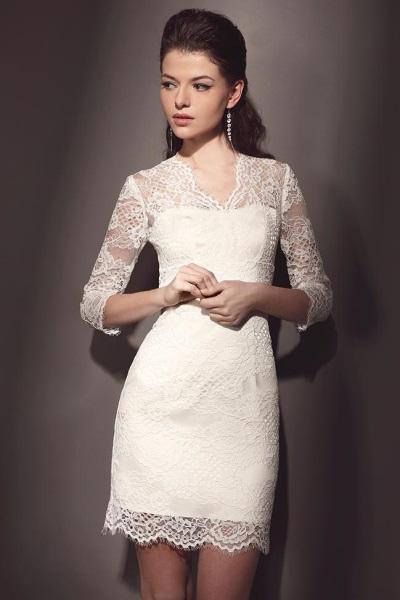 Ажурные свадебные платья 8