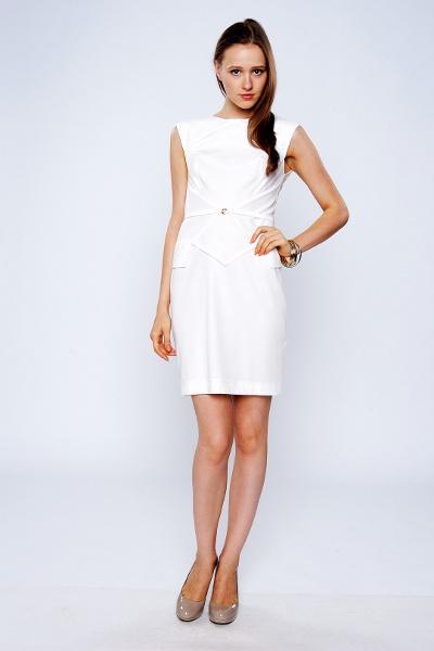 Изобр по > Свадебное Белое Платье Футляр