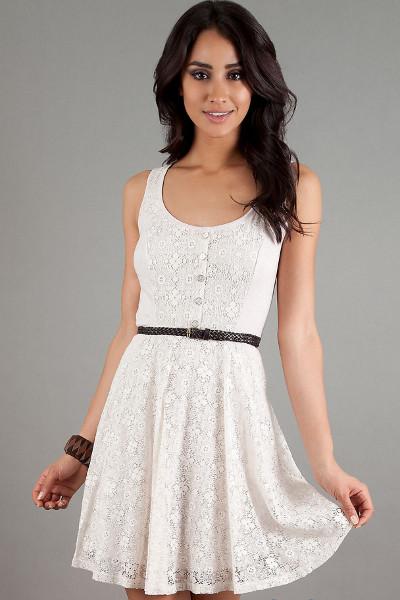 Платье летнее красивое белое