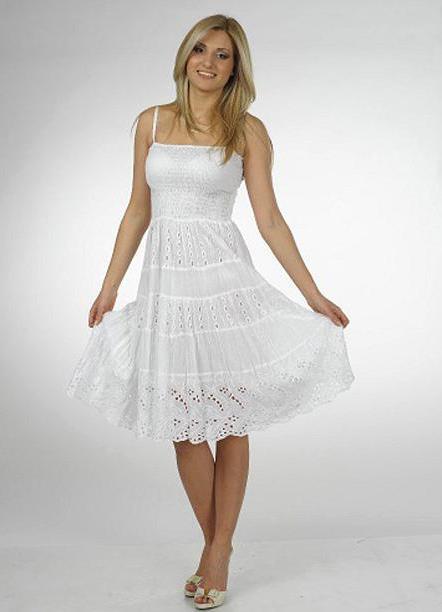 Модный портал. белые сарафаны, фото - Все о моде