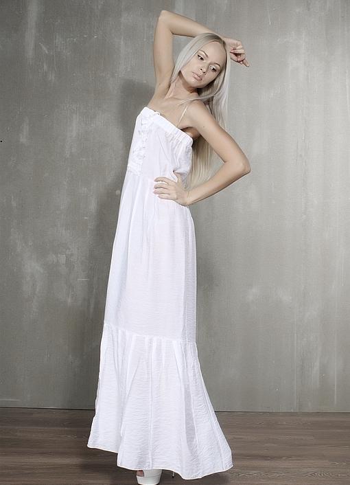 вискоза. вискоза с хлопком,белый,однотонный,сарафан летний,сарафан,платье,платье летнее,платье в пол